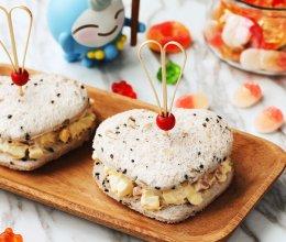 爱心三明治-丘比沙拉酱香甜口味的做法
