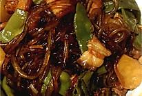 五花肉炖油豆角粉条的做法