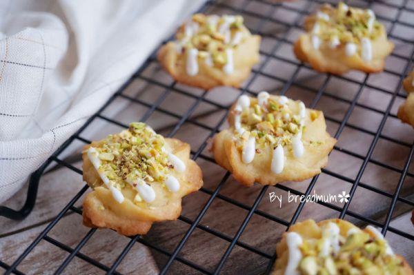 开心果柠檬小饼