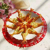 花开富贵芝士焗大虾#秋天怎么吃#的做法图解16