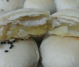 酥皮绿豆饼的做法