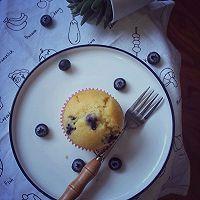 #520,美食撩动TA的心!#会爆浆的小蛋糕-蓝莓马芬的做法图解9
