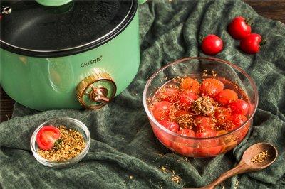 夏天吃糖渍番茄才爽!冰冰凉凉,酸爽解暑!