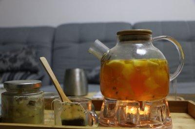 让宝宝爱上喝水的果果茶