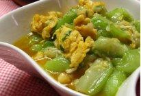丝瓜炒蛋的做法