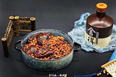 黄豆焖猪蹄-满满的胶原蛋白