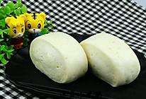 奶香白馒头#松下烘焙魔法学院#的做法