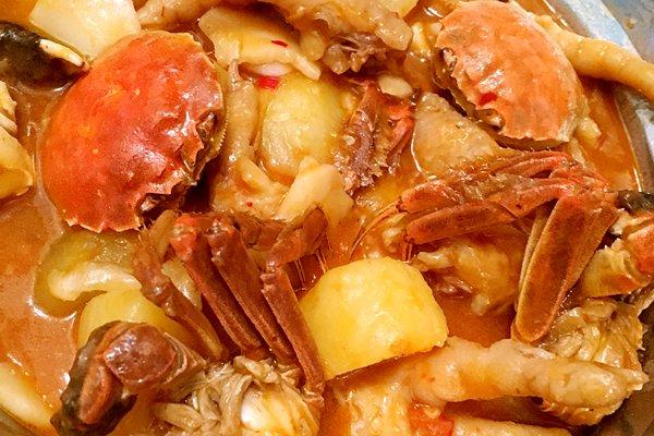 肉蟹煲的做法_【图解】肉蟹煲怎么做如何做好吃_肉蟹