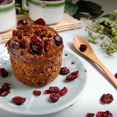 蔓越莓红糖蜂糕