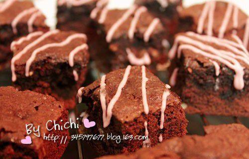 濃情布朗尼Chocolate Brownie的做法