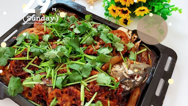 #餐桌上的春日限定#家常香辣烤鱼的做法
