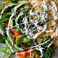 时蔬沙拉拌意面的做法图解7
