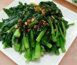 蒜蓉蠔油菜心的做法