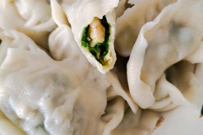 韭菜虾仁鸡蛋饺子