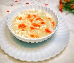 #快手又营养,我家的冬日必备菜品#米酒冰糖雪梨羹的做法