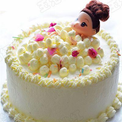 萌娃洗澡蛋糕