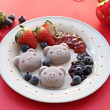 小猪香芋糕-丘比果酱