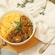 黑椒牛魔王盖饭,要简单也要好好吃饭