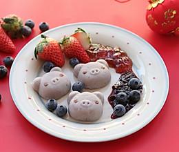 小猪香芋糕-丘比果酱的做法