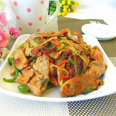 滑炒里脊——利仁电火锅试用菜谱