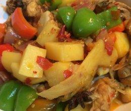 杨胖出品-大盘鸡拌面的做法