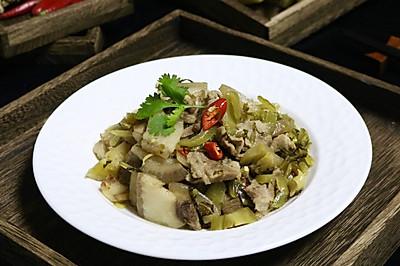 老谭酸菜焖猪肉