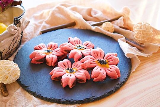 櫻花酥~一朵花花送給你