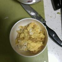 茼蒿炒蛋的做法图解2