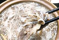 肥牛金针菇白萝卜煲的做法