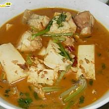 豆腐炖鱼—春季美食