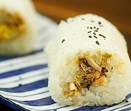 台湾蒸饭【微体兔菜谱】的做法