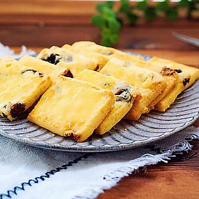葡萄干奶酥饼干~卡士烤箱CO-750A食谱