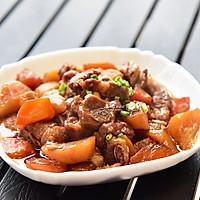 胡萝卜土豆焖排骨#乐美雅玉罢不能#