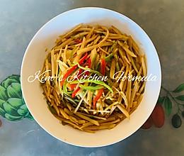 家常菜之3:青椒炒土豆丝