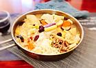 #冬天就要吃火锅#肥牛菌汤火锅 配老北京芝麻酱料的做法
