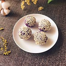 ㊙️芝士溏心紫薯球
