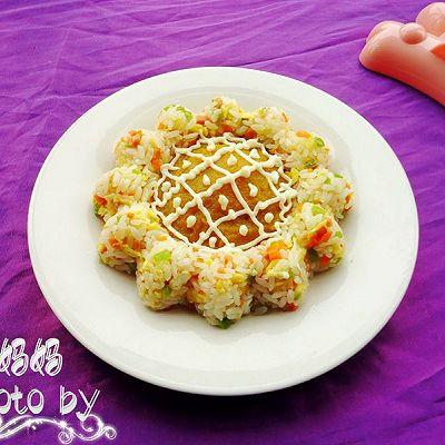 卡通造型饭之-------蛋炒饭