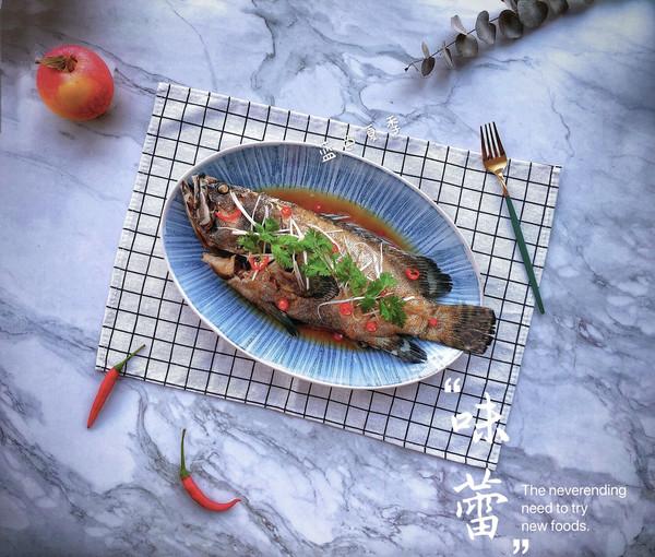 中秋家宴之清蒸石斑鱼的做法