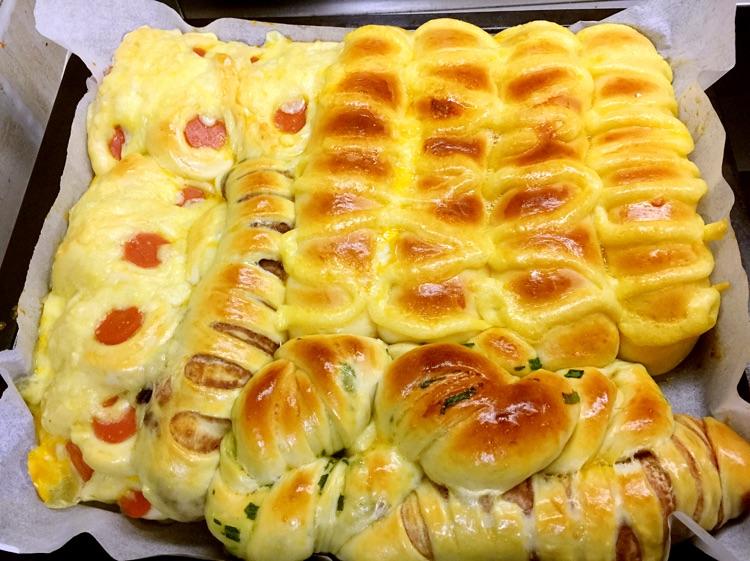 一炉烤出的花式面包的做法图解39