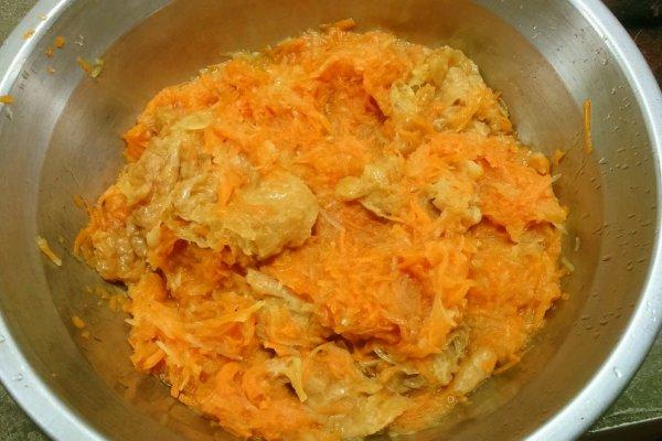 土豆糊了胡萝卜的做法