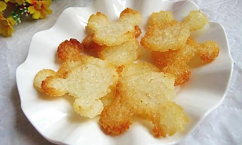 香酥大米锅巴的做法