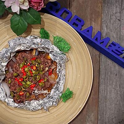 双椒焗牛肉老板R015烤箱试用