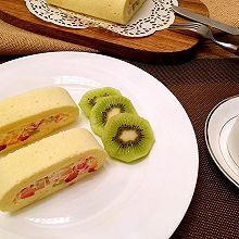 什锦水果蛋糕卷