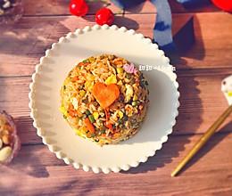 蒜苔酱油炒饭——粒粒分明的做法