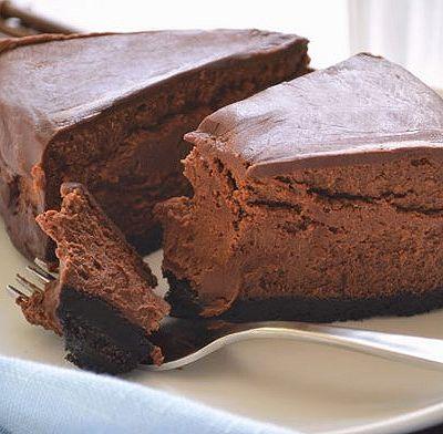 6寸圆盘浓郁巧克力轻奶酪芝士蛋糕