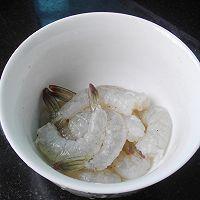 芦笋鲜虾培根卷的做法图解3
