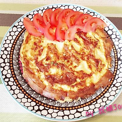 香软牛奶厚蛋饼——10分钟营养早餐