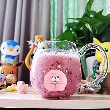 蓝莓草莓酸奶