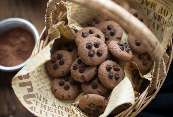 双重美味的巧克力曲奇饼的做法