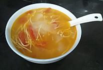 金针菇番茄冬瓜汤的做法